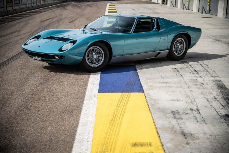 クルマ   ランボルギーニ、リトル・トニーが愛した『ミウラP400S』を伝統のクラシックカーコンテストに出展