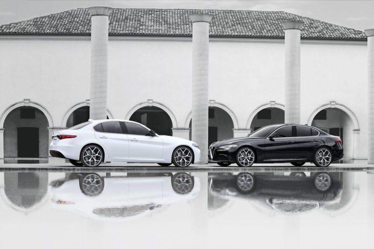 クルマ | 『アルファロメオ・ジュリア』にブラック&ホワイトのモノクロームな限定車が登場