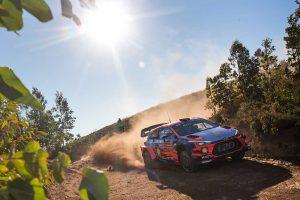 ラリー/WRC | WRC:第7戦ポルトガルのシェイクダウンはヒュンダイ首位。0.1秒差でトヨタのミークが続く