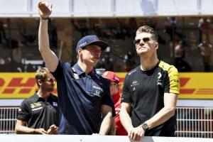 F1 | マックス・フェルスタッペン(レッドブル・ホンダ)とニコ・ヒュルケンベルグ(ルノー)
