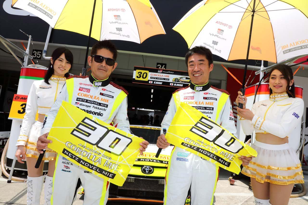 30号車TOYOTA GR SPORT PRIUS PHV apr GT 2019スーパーGT第2戦富士 レースレポート