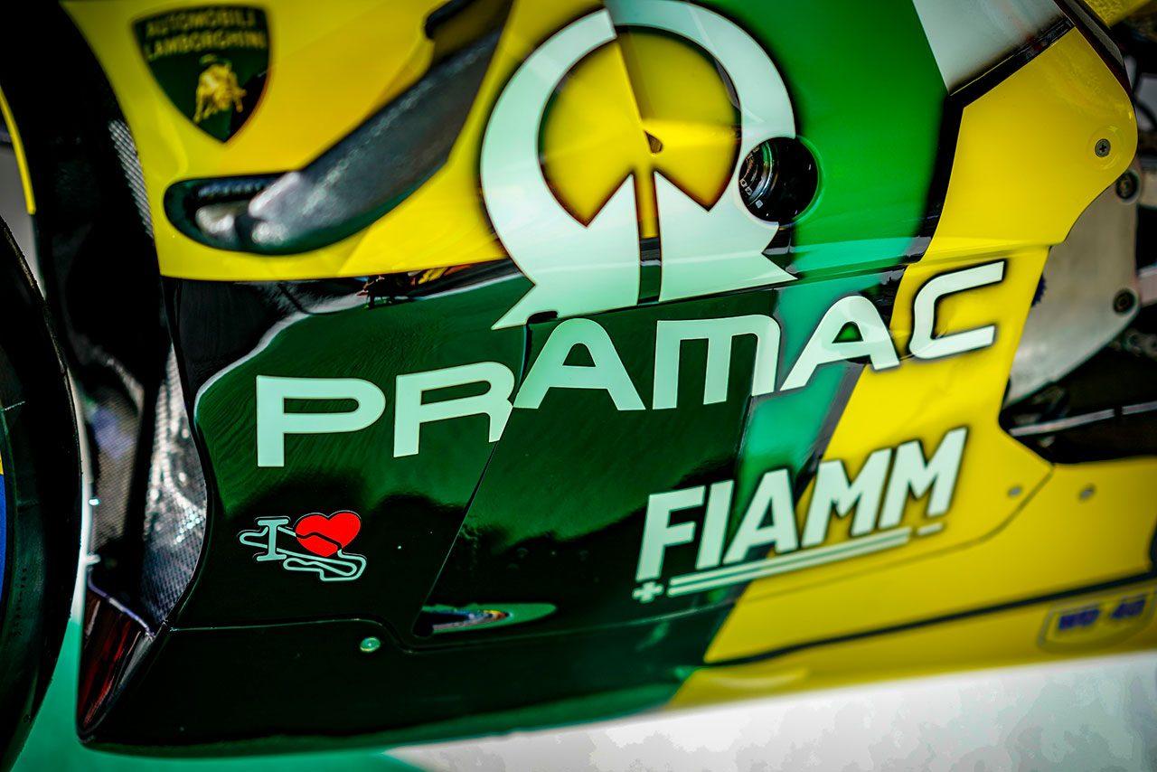 ランボルギーニカラーが施されたジャック・ミラーのデスモセディチGP