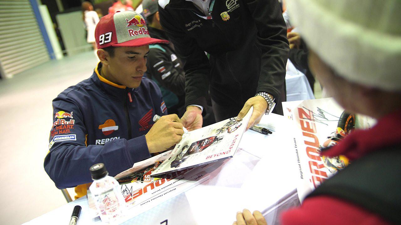 2018年MotoGP日本GP サイン会