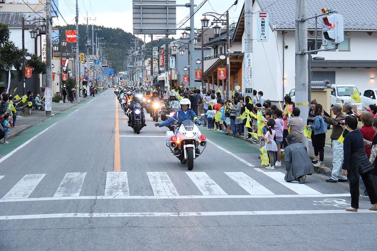 2018年MotoGP日本GP グランプリロードR123パレード