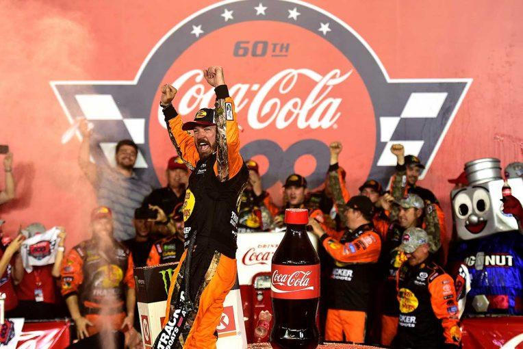 海外レース他 | NASCAR第13戦:タイヤトラブルからの逆転劇。トヨタのトゥルーエクスJr.が600マイルレースを制す