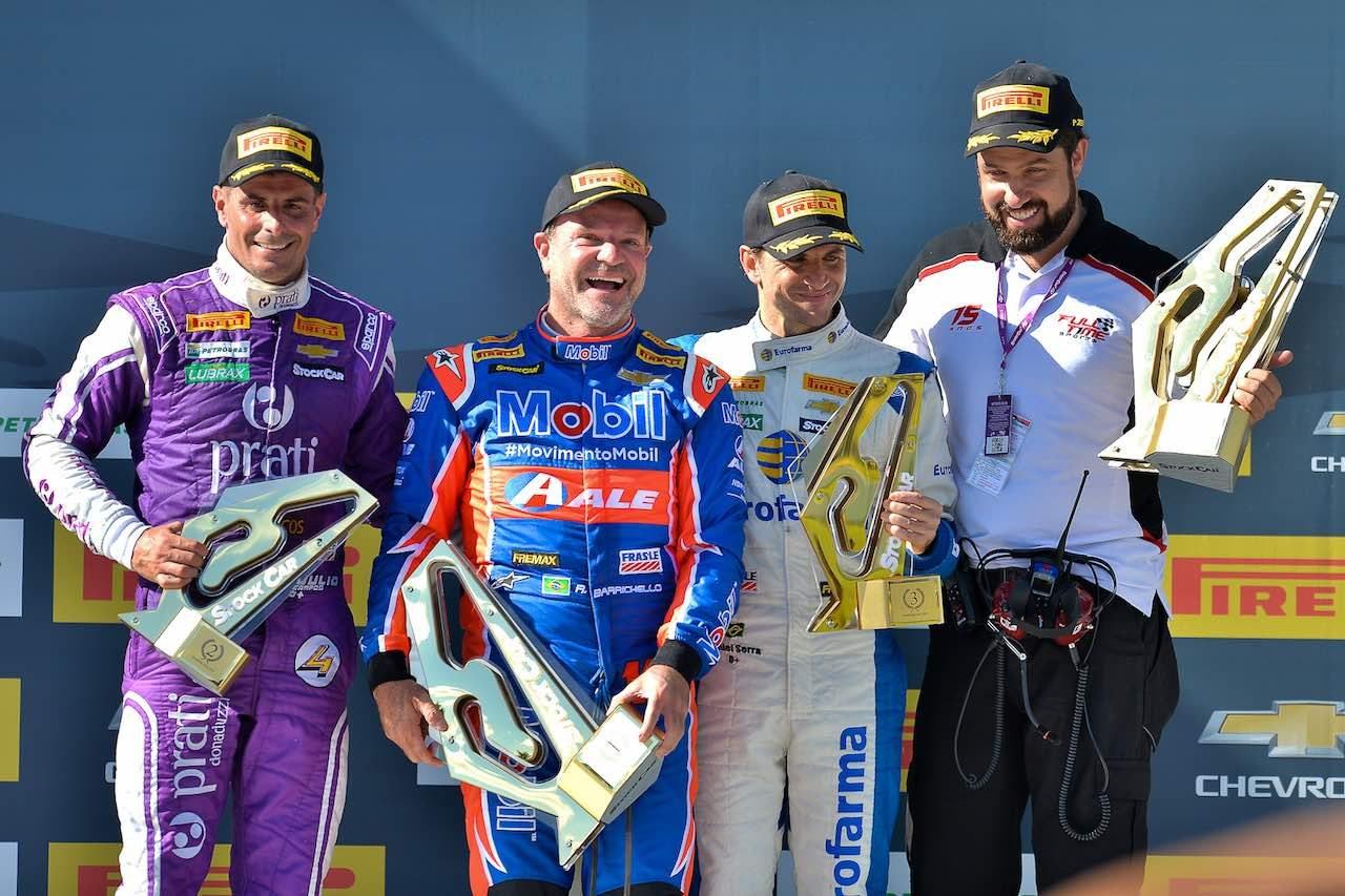SCB第3戦:元F1ドライバー饗宴。好調ゾンタが連勝、バリチェロも今季初勝利