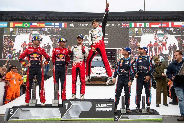 ラリー/WRC | 【動画】2019WRC世界ラリー選手権第6戦チリ ダイジェスト