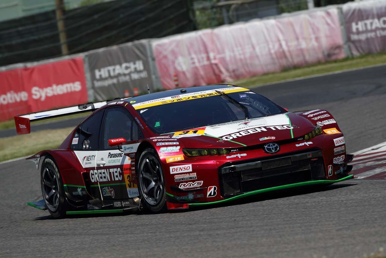 31号車TOYOTA GR SPORT PRIUS PHV apr GT 2019スーパーGT第3戦鈴鹿 レースレポート
