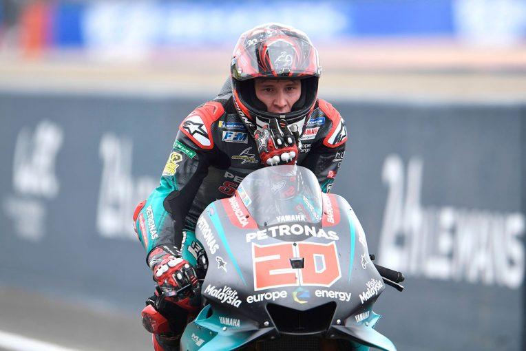 MotoGP | MotoGP:クアルタラロが腕上がりの手術を実施。カタルーニャGPは出場予定