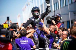 MotoGP | ヤマハ&ビニャーレスがMotoGPオランダGPで2019年シーズン初優勝。中上はハードクラッシュも無事