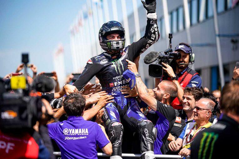 MotoGP   ヤマハ&ビニャーレスがMotoGPオランダGPで2019年シーズン初優勝。中上はハードクラッシュも無事