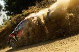 ラリー/WRC   WRCポルトガル:トヨタ、競技初日にトップ3独占。タナクが17.3秒リード築く