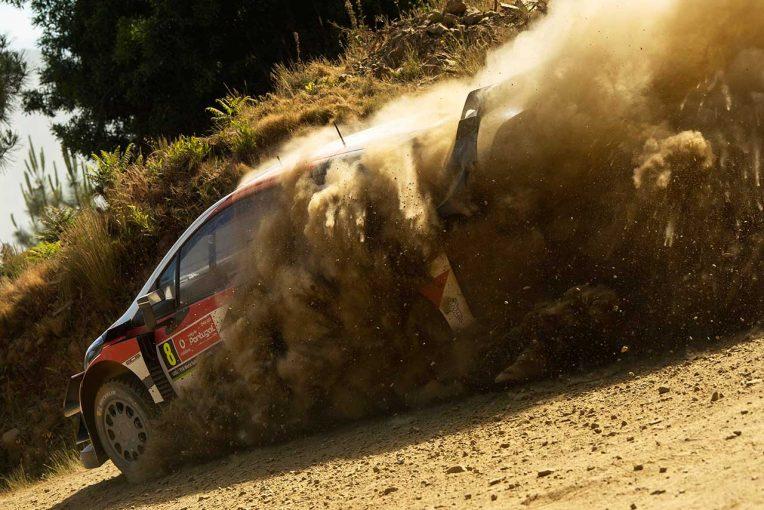 ラリー/WRC | WRCポルトガル:トヨタ、競技初日にトップ3独占。タナクが17.3秒リード築く