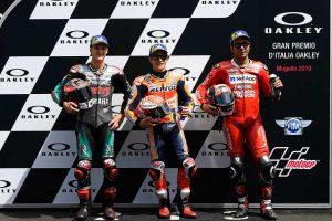 MotoGP | マルケス「ピロが僕を待っていた」ために戦略を変更/MotoGP第6戦イタリアGP 予選トップ3コメント