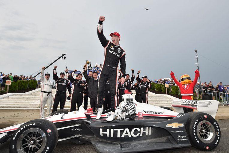 海外レース他 | インディカー第7戦詳報:運をつかみ寄せたニューガーデンが今季2勝目。琢磨は終盤の追い上げで連続3位