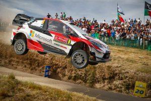 ラリー/WRC | WRCポルトガル:トヨタのタナクが2連勝。僚友ミークは最終ステージでクラッシュし表彰台逃す