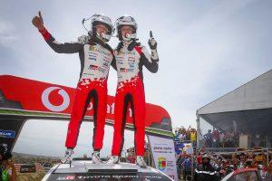 ラリー/WRC | 2019年のWRC第7戦ポルトガルを制したオット・タナク(トヨタ・ヤリスWRC)