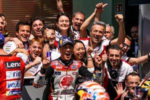 MotoGP | 中上、MotoGPイタリアGPで自己ベスト5位獲得。「グランプリに来てから一番いいレース」と笑顔