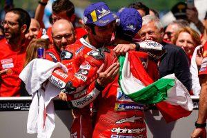MotoGP | MotoGPイタリアGPの初優勝に流した歓喜の涙。ペトルッチ「優勝するチャンスだと言い聞かせた」