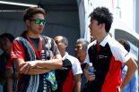 国内レース他 | 昨年のポルシェジャパンジュニアドライバーの上村優太(左)と笹原