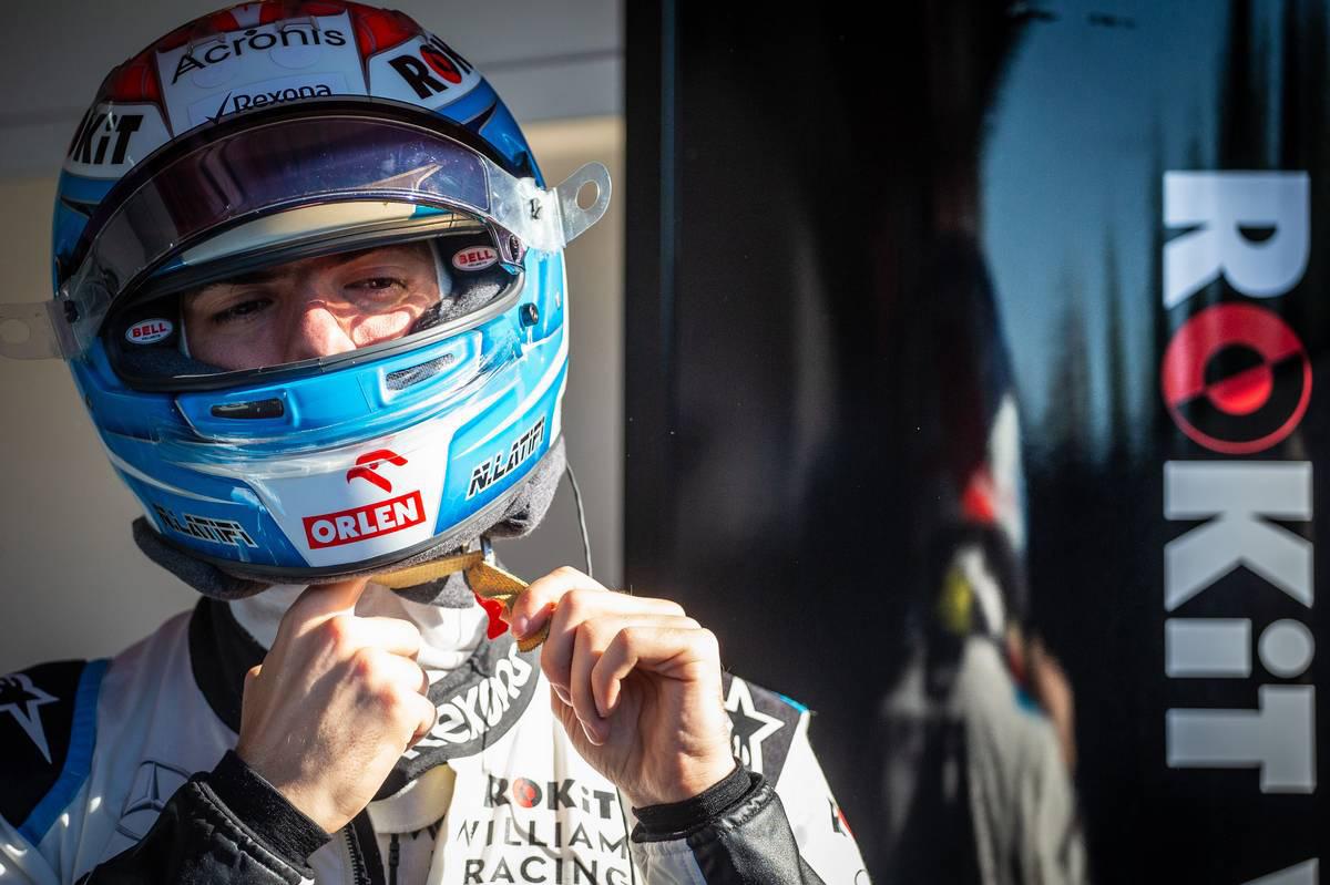 2019年F1バルセロナテスト ニコラス・ラティフィ(ウイリアムズ)