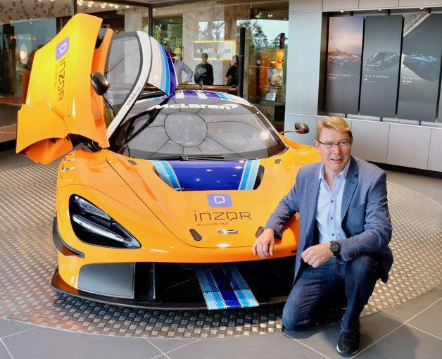 F1 | F1 Topic:元F1世界チャンピオンのミカ・ハッキネンがモナコで鈴鹿10時間耐久レースカーをお披露目