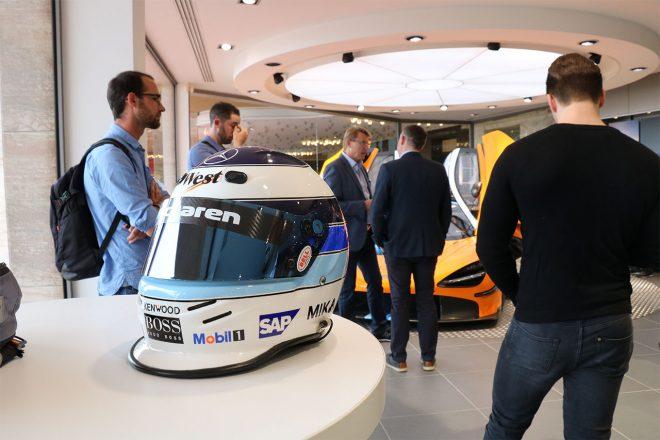 鈴鹿10時間耐久レースに参戦する元F1世界チャンピオンのミカ・ハッキネン