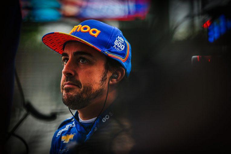 海外レース他 | インディカーフル参戦は否定するアロンソ「インディ500に戻るなら、もっとも競争力のあるものを選びたい」