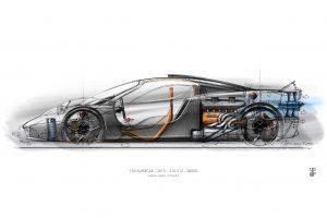 クルマ | ゴードン・マレー設計のV12新型スーパーカー『T.50』公開。F1譲りのファンカー機構搭載
