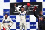 F1   1本のシャンパンボトルを巡ってBMWとザウバーが張り合い。クビサのF1初優勝にまつわる秘話