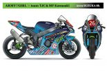 MotoGP | 鈴鹿8耐:Team MF&Kawasakiが参戦体制を発表。チームを彩るレースクイーン4名も明らかに