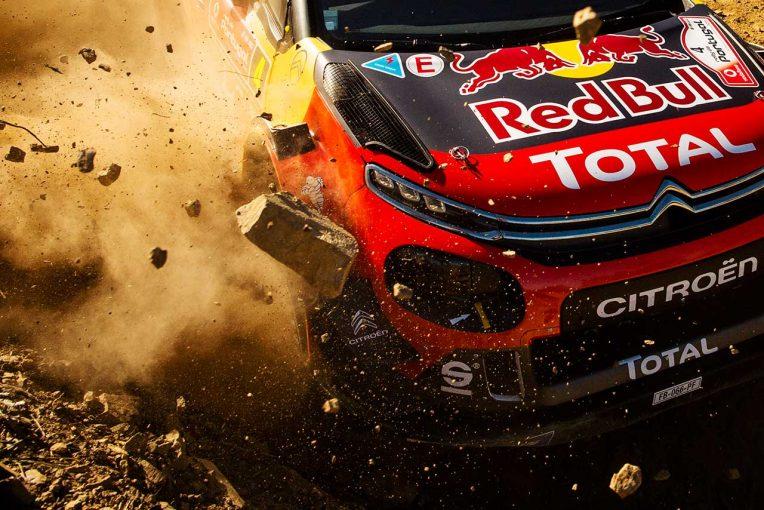 ラリー/WRC | WRC:クラッシュ続くシトロエンのラッピ、最後の課題は「大会をとおして集中力を維持すること」