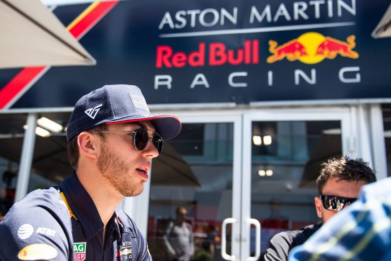F1 | レッドブル・ホンダのガスリー、シート喪失報道を強く非難。チームとの信頼関係を強調