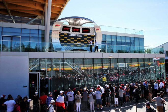 2019年F1第7戦カナダGP 新しくなったピットビル