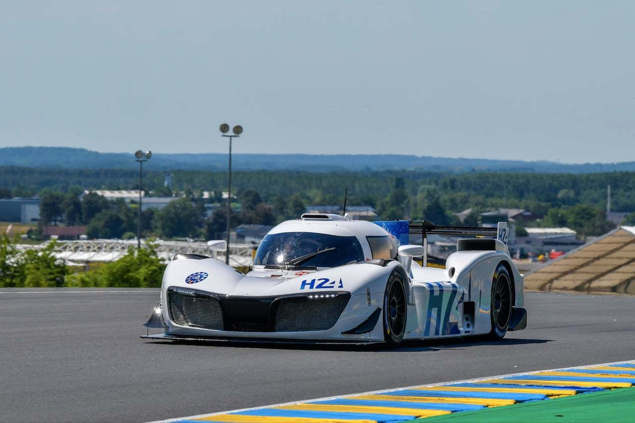 ル・マン24時間:燃料電池プロトカー『LMPH2G』、15日のスタート前にデモ走行実施へ