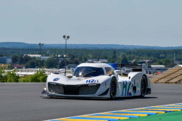 ル・マン/WEC | ル・マン24時間:燃料電池プロトカー『LMPH2G』、15日のスタート前にデモ走行実施へ