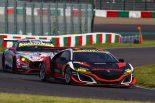 鈴鹿サーキットを走るModulo KENWOOD NSX GT3