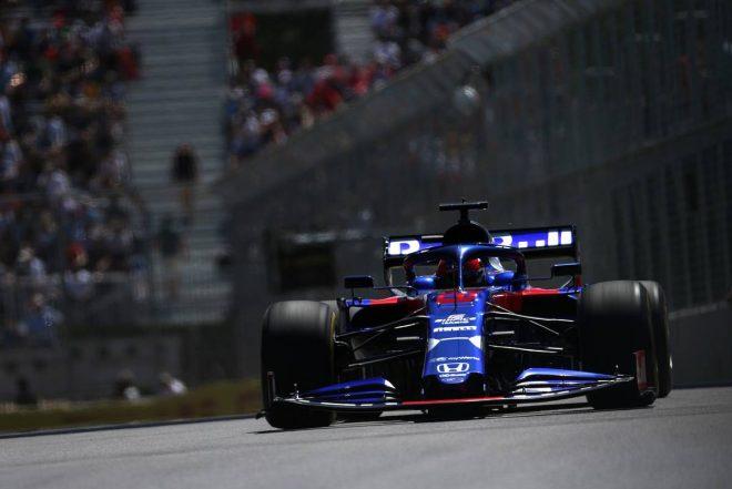 2019年F1第7戦カナダGP ダニール・クビアト(トロロッソ・ホンダ)