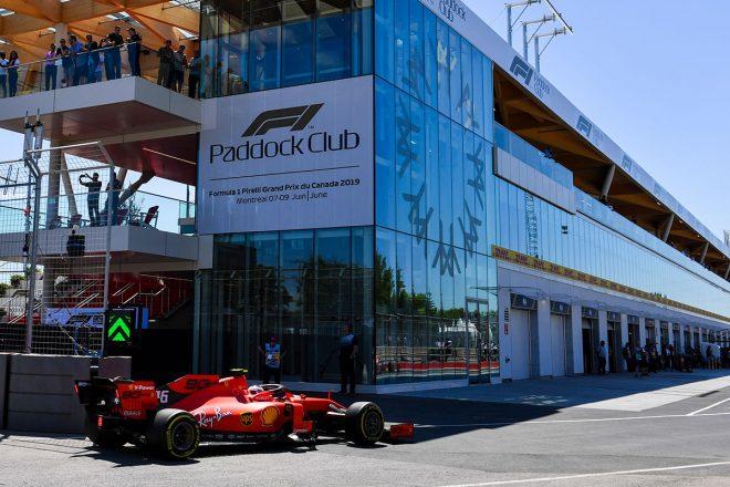 2019年F1第7戦カナダGP シャルル・ルクレール(フェラーリ)がFP2でトップタイム