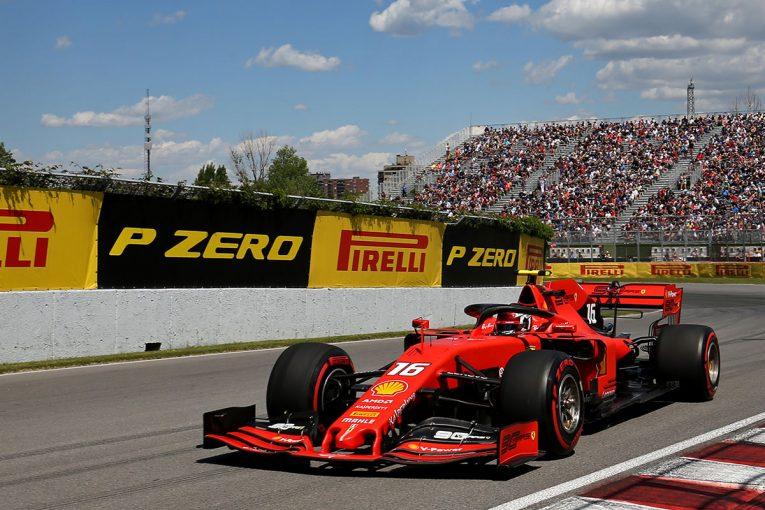 F1   F1第7戦カナダGP FP2:ルクレールが初日トップ。ハミルトンはセッション序盤にまさかのクラッシュ