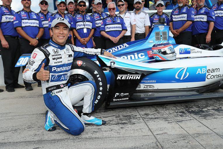 海外レース他 | インディカー第9テキサス予選:琢磨が今季2度目のポールポジションを獲得