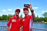 F1 | ルクレール最速「予選の予想はまだできない。ライバルとの戦いに備えてさらなる進歩を目指す」:フェラーリ F1カナダGP金曜