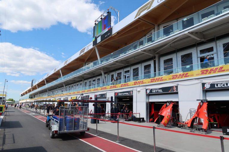 Blog | 【ブログ】突貫工事でピットビルが現代仕様に大変身/F1第7戦カナダGP現地情報