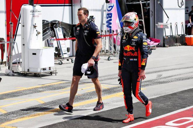 2019年F1第7戦カナダGP 予選Q2敗退を喫したマックス・フェルスタッペン
