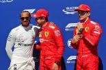 2019年F1第7戦カナダGP予選 PP:セバスチャン・ベッテル、2番手:ルイス・ハミルトン、3番手:シャルル・ルクレール