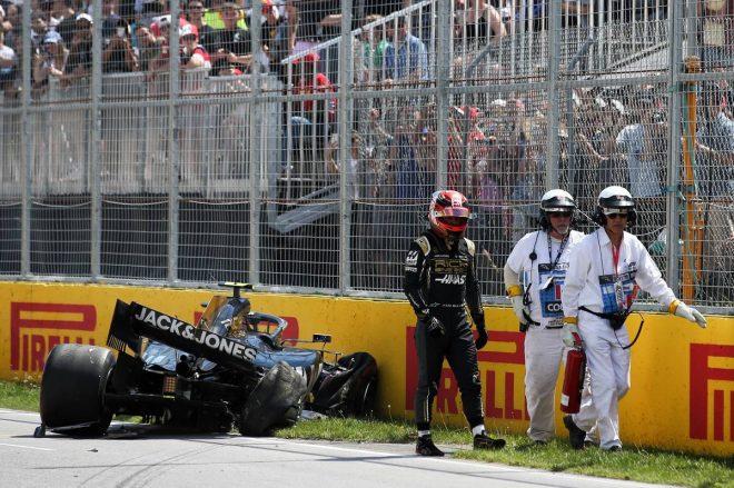 2019年F1第7戦カナダGP ケビン・マグヌッセン(ハース)