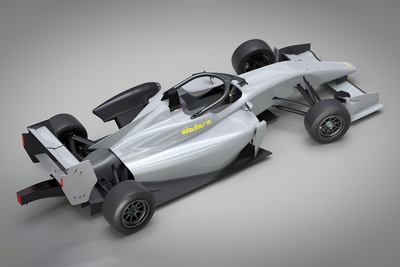 ダラーラ、F312〜317用車両の後継車『F320』を発表。現行車両からのアップデートも可能