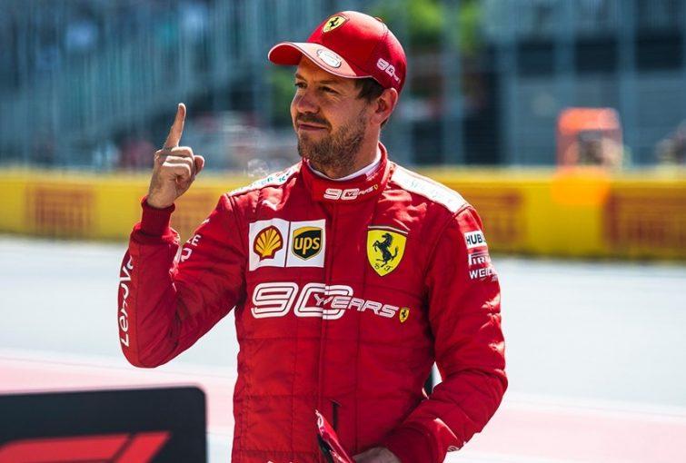 F1   ベッテルが2019年初ポール「苦労してきただけに格別な気分。明日もまた歌えるといいね!」:フェラーリ F1カナダGP土曜