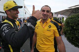 F1 | ルノーが2010年以来のセカンドロウ「4番手がこれほどうれしいなんて! まるでポールを獲ったような気分」とリカルド:F1カナダGP土曜