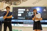 イベントの解説とMCを務めた千代勝正と笠原美香さん